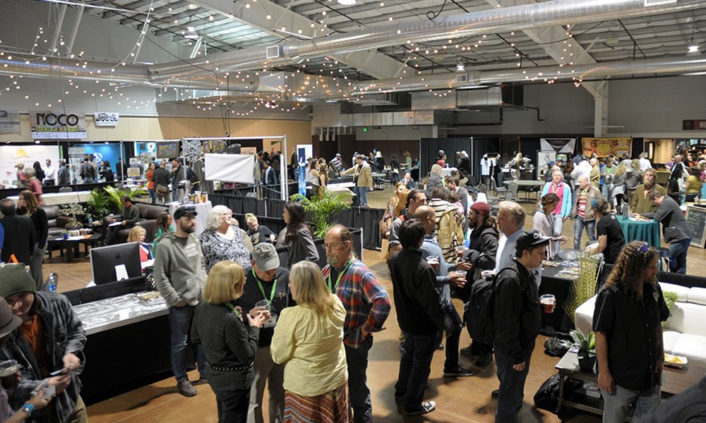 NoCo Hemp Expo - expo hall