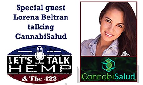 Jenna Beltran Let's talk hemp podcast