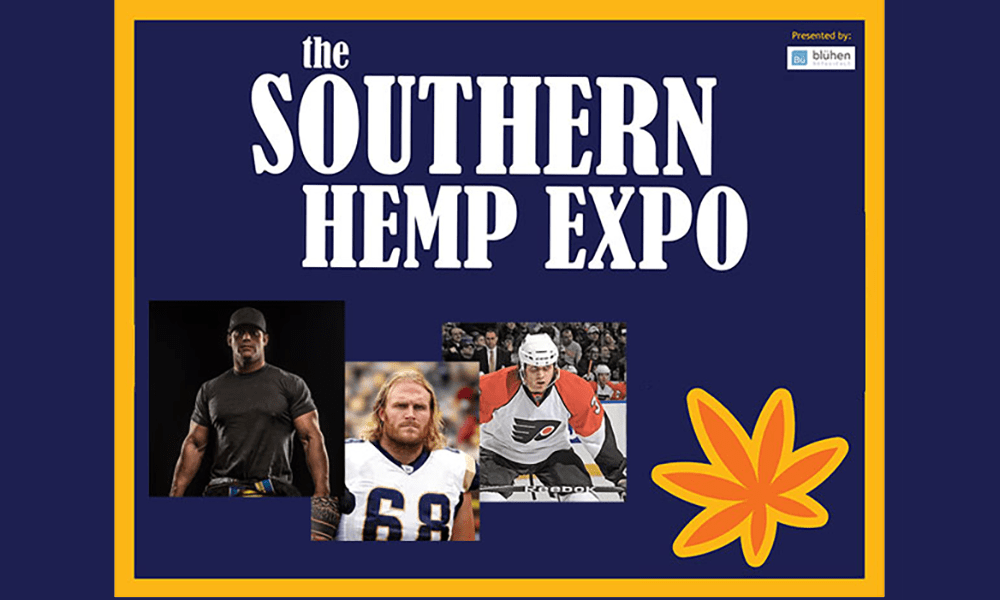 Athletes at the Southern Hemp Expo