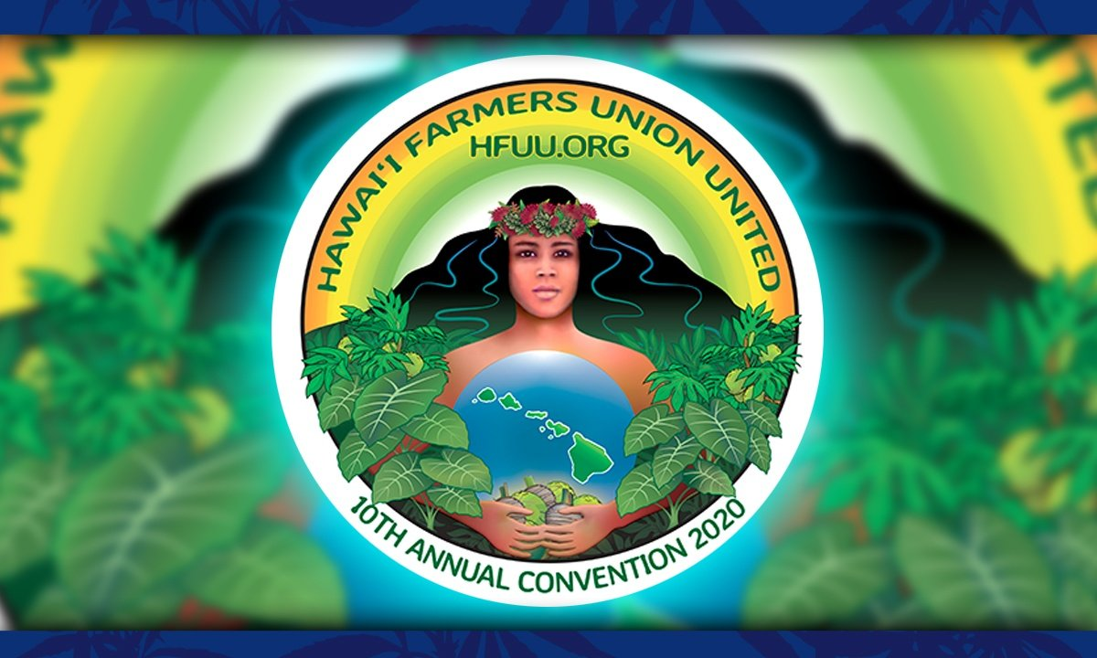Hawaii Farmers Union United Logo