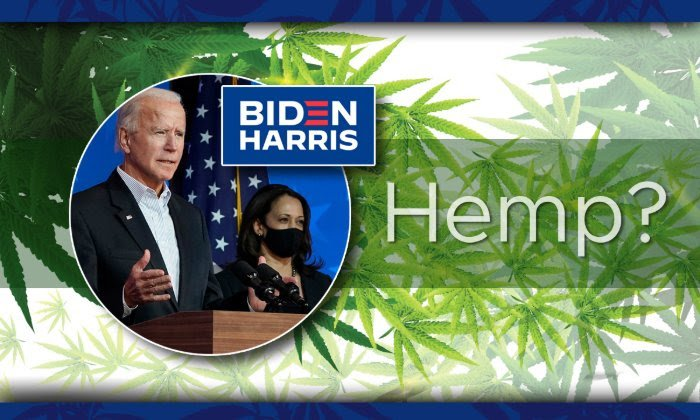Biden Harris and Hemp