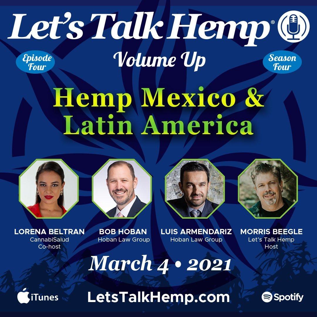 Let's Talk Hemp Podcast March 3