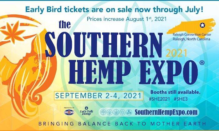 Southern Hemp Expo Early Bird Tickets on Sale